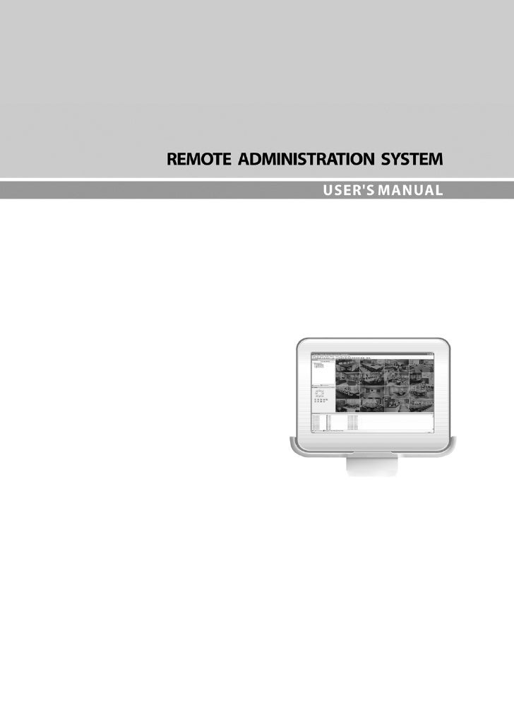 Remote Administration System Plus (RASplus)                                     Table of Contents   Chapter 1 ─ Overview.....