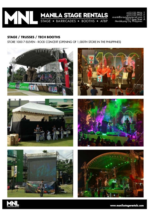 T F E A +632.533.9906 +632.533.9905 events@aroundtownprod.com 920 P. Lopez Street Mandaluyong City, PhilippinesSTAGE BARRI...
