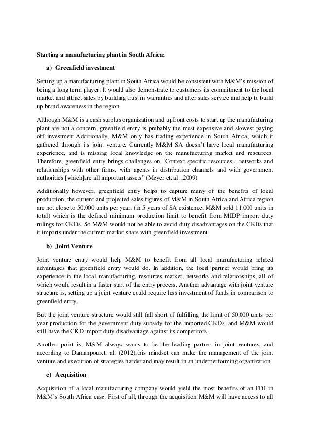 mahindra mahindra in south africa essay Register register.