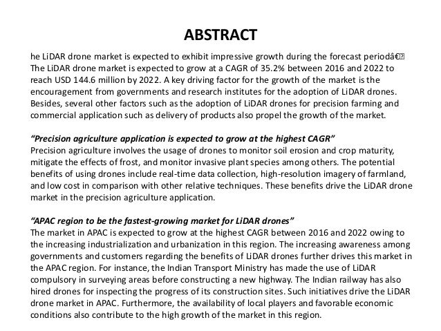 LiDAR Drone Market by Product (Rotary Wing, and Fixed Wing), Componen…