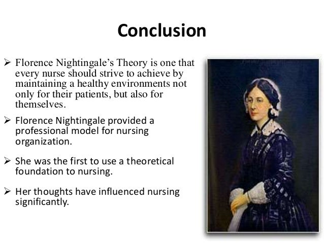 nightingale theory critique Critique of her nursing theory  nursing theorist: virginia henderson critique of her nursing theory by yvonne li on 14 march 2011 tweet comments (0.