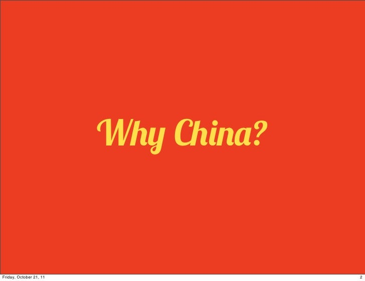 Cross-cultural Negotiations With China Slide 2