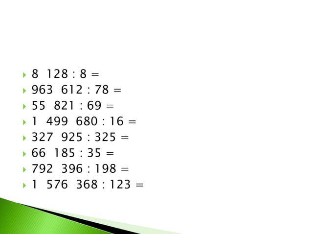 1. Proizvod brojeva 13 356 i 42 umanji za količnik tih brojeva. 2. Ako avion predje 3 856km dnevno, koliko će preći za god...