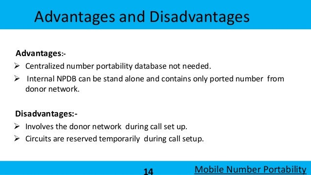 Mobile Number Portability Mnp