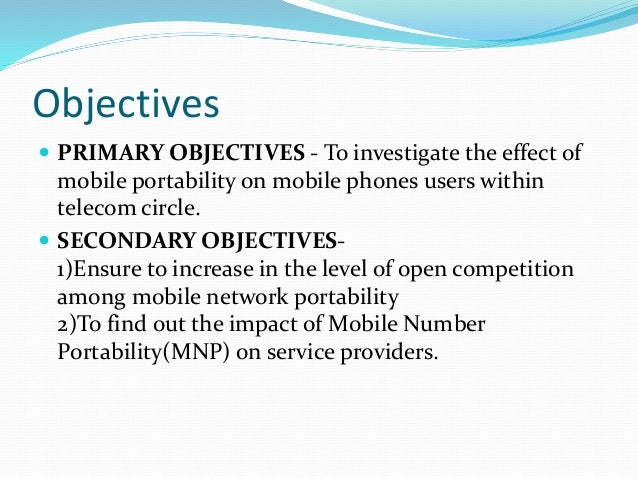 synopsis on mobile number portability Also explore the seminar topics paper on mobile number portability with  abstract or synopsis, documentation on advantages and.
