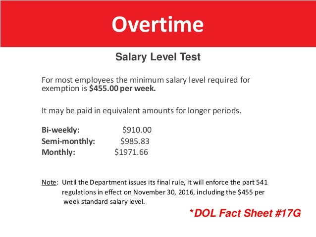 U S  Department of Labor Wage-Hour Division