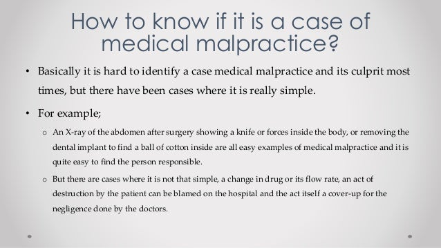 medical malpractice essays What are the elements of a medical malpractice claim there are four basic elements to a medical malpractice case they must all be present to form the basis for a claim, and an attorney must prove them all to succeed in a medical malpractice case.