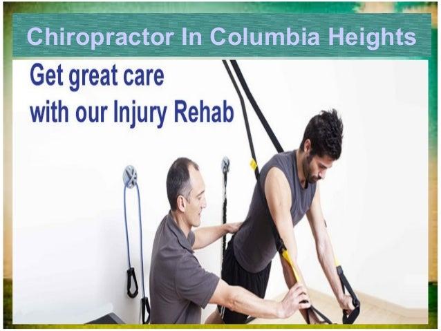 Chiropractor In Columbia Heights