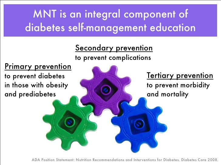 Medical Nutrition Therapy in Diabetes Slide 3