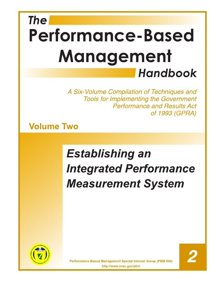 The Performance-Based Management Special Interest Group (PBM SIG) is a U.S. Department of Energy (DOE) and DOE contractor ...