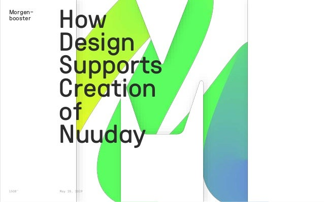 How Design Supports Creation of Nuuday Morgen- booster
