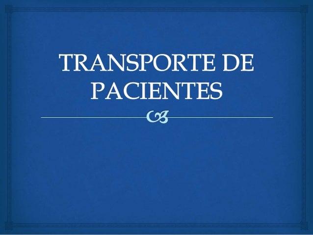  O ato de transportar deve reproduzir segurança e eficiência. Abordaremos os conceitos, evidências clínicas, logística, n...