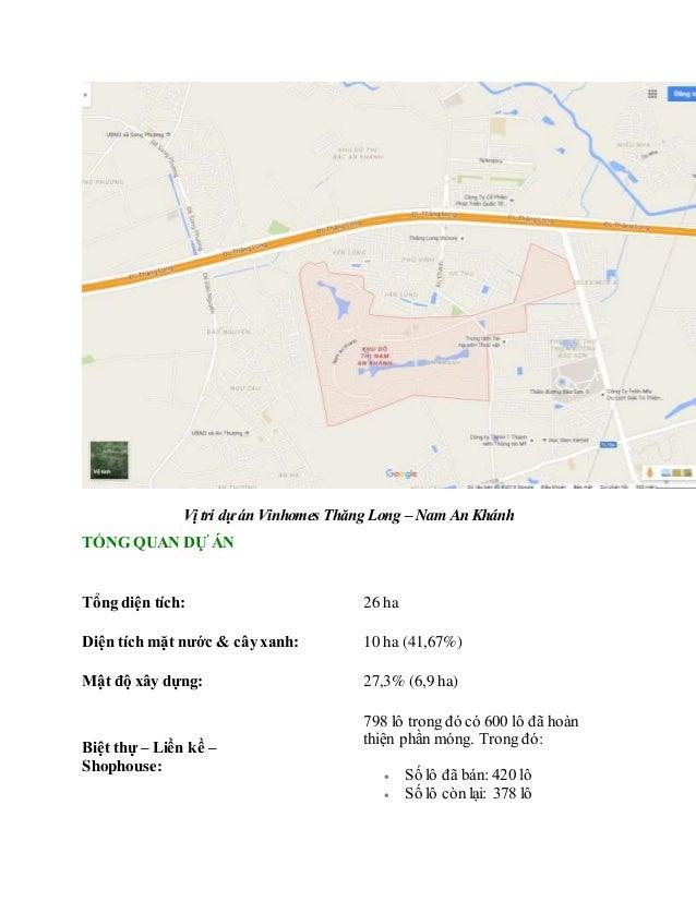 Vinhomes Thăng Long thông tin mở bán chính thức Slide 2