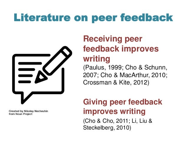 writing feedback Traditionally, feedback to writing is written on drafts or given orally in roving or  more formal conferences and is considered a significant part of instruction.