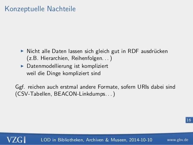 ert durch eine URI)  I Objekt (Zeichenkette oder URI)2  Beispiel:  S http://d-nb.info/gnd/11857854  P http://d-nb.info/sta...