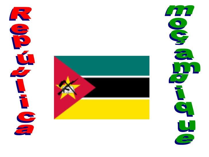 República moçambique