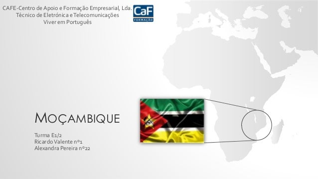 CAFE-Centro de Apoio e Formação Empresarial, Lda.  Técnico de Eletrónica e Telecomunicações  Viver em Português  MOÇAMBIQU...