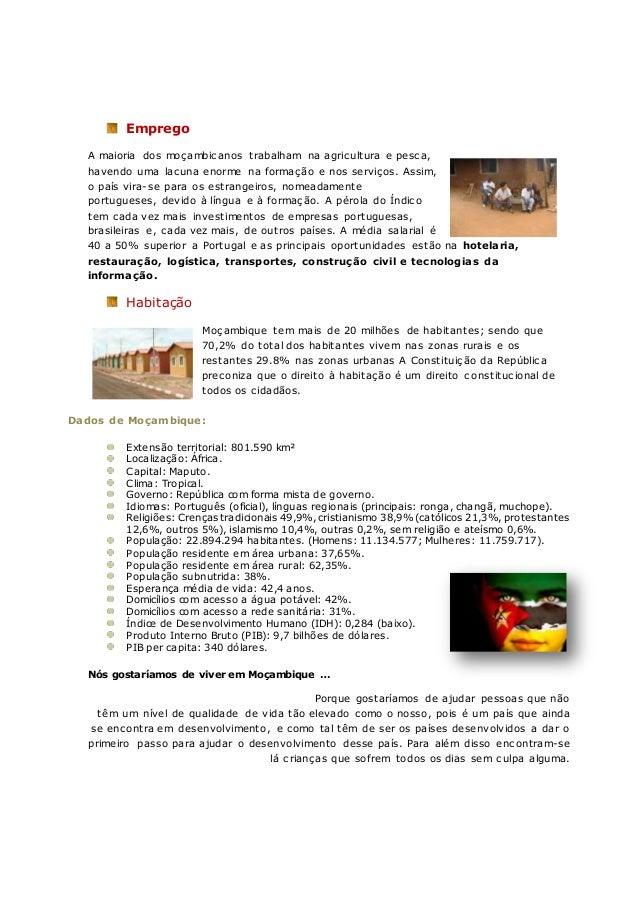 Trabalho de Geografia sobre Moçambique Slide 2