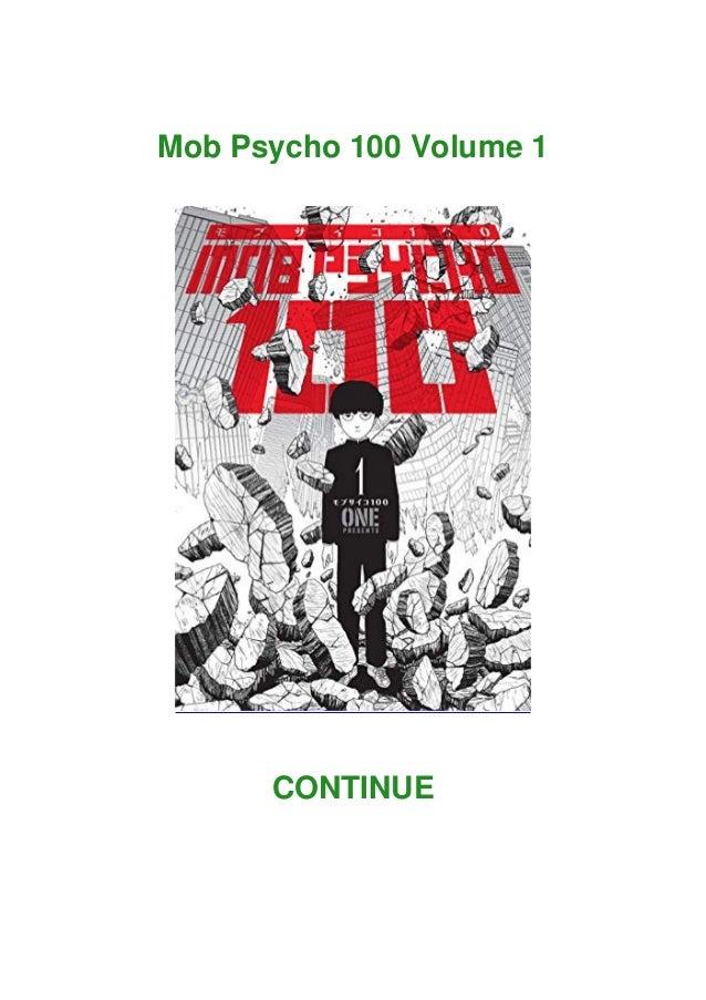 Mob Psycho 100 Volume 1 CONTINUE