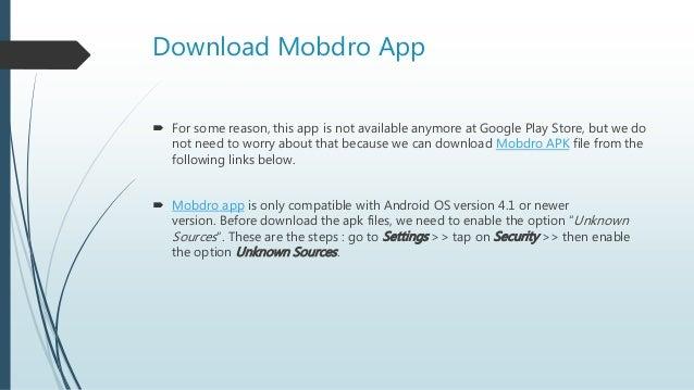 Mobdro Apk Download : Free and Premium Version of Mobdro App