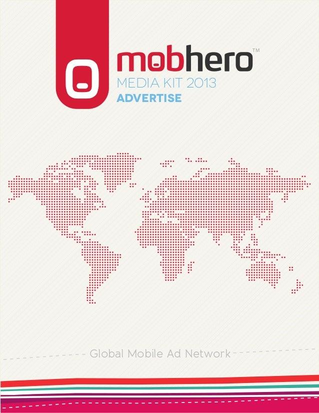 TM    Media KIT 2013    AdvertiseGlobal Mobile Ad Network