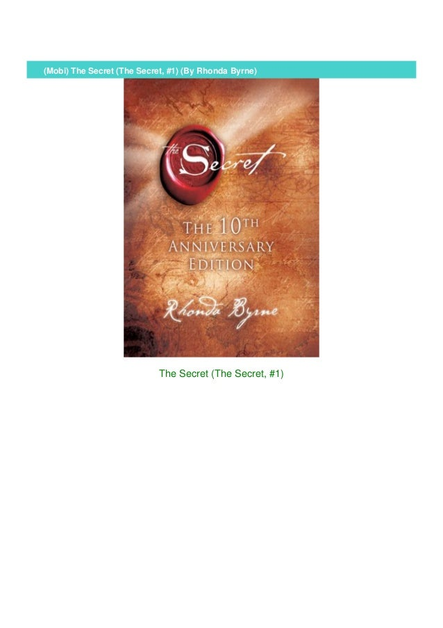 (Mobi) The Secret (The Secret, #1) (By Rhonda Byrne