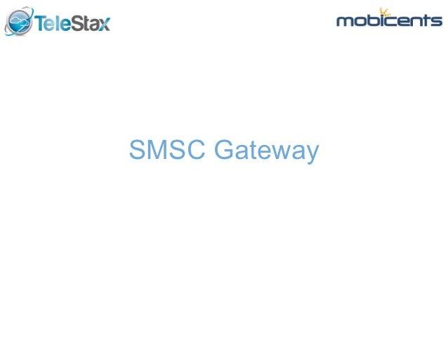 SMSC Gateway