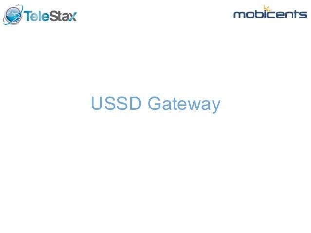 USSD Gateway