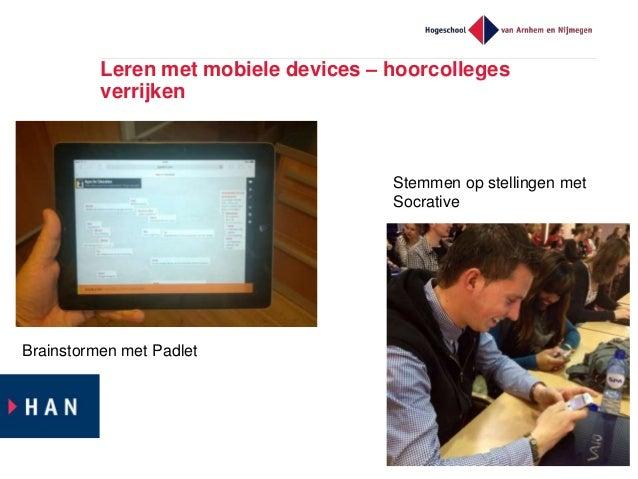 Mobiel leren – leren in context