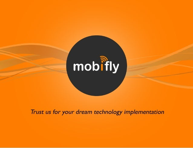 Mobifly -   mobile and web application development company gurgaon - brochure