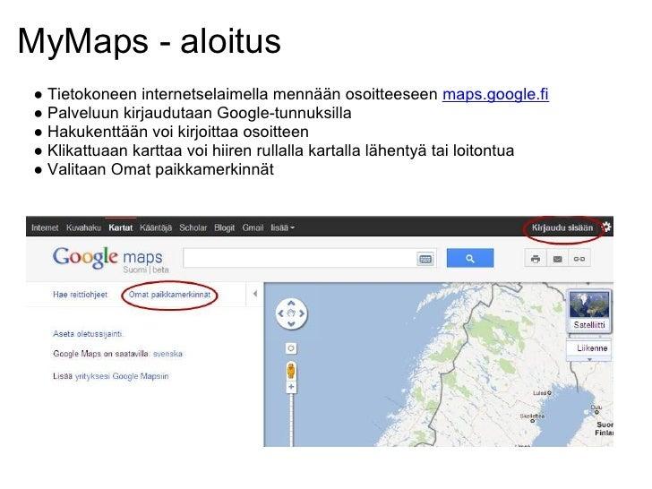 Mobiilikarttapalvelut Google Maps Karttojen Kaytto