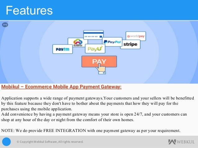 Mobikul Mobile App Builder's Features - Highlights
