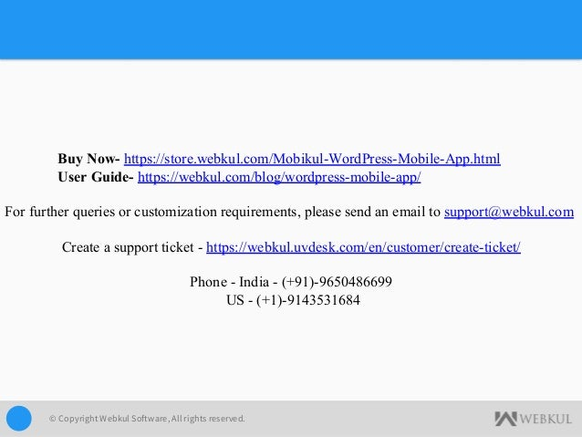 Mobikul WordPress Mobile App