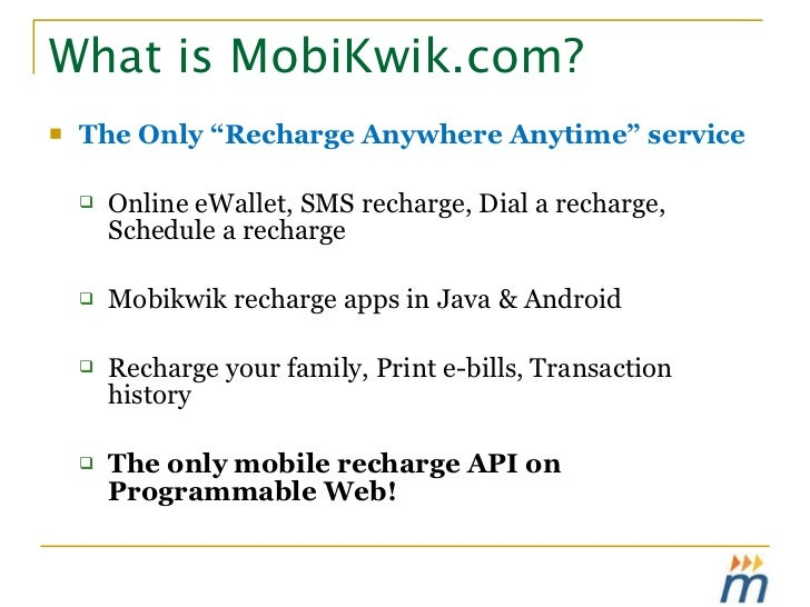 Mobikwik - Mobile App Store for India