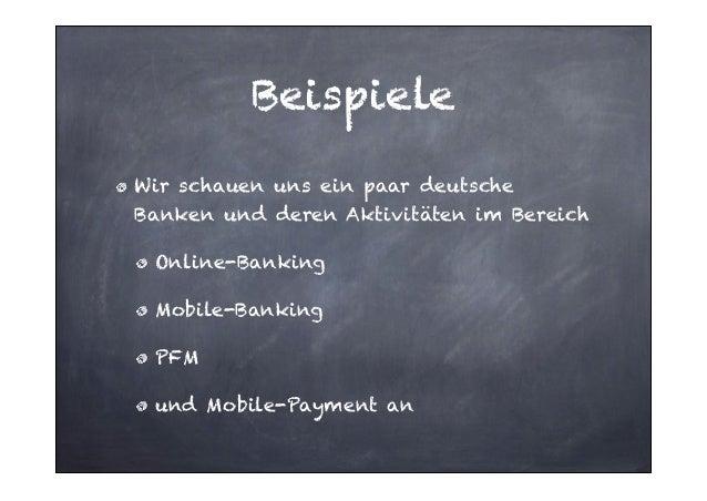 Summary Erste Bank in Deutschland mit PFMAngebot im Online-Banking Mobile steht bisher als eigener Satellit daneben und is...