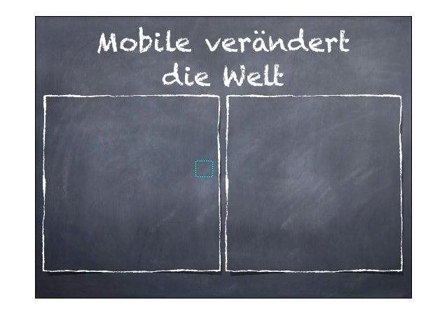 Mobile verändert die Welt