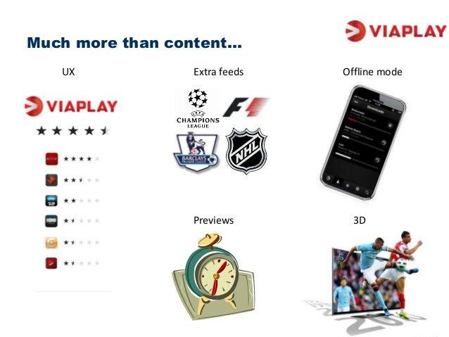 viaplay offline
