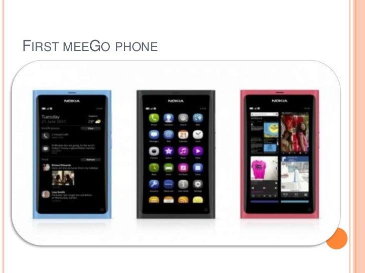 FIRST MEEGO PHONE