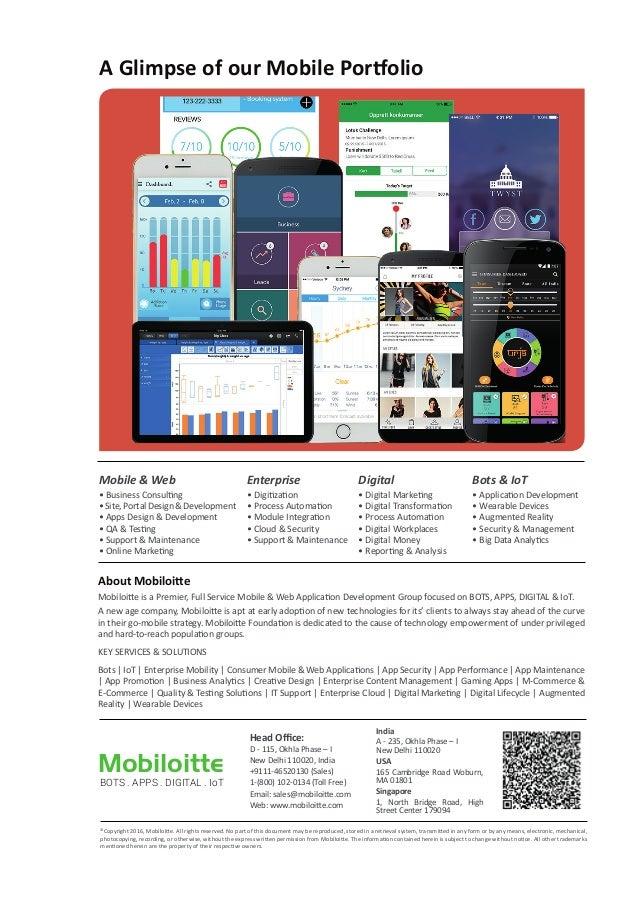 Mobile App Development Brochure