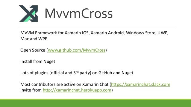 Build Cross Platform Mobile Apps for iOS & Android with Xamarin & Mvv…