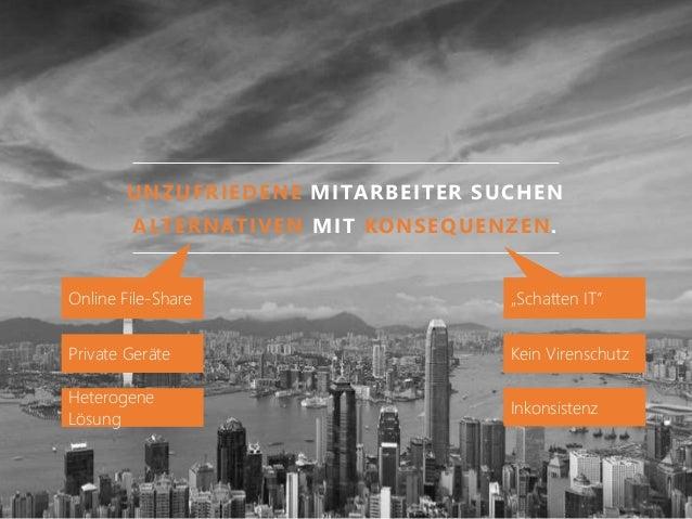 """UNZUFRIEDENE MITARBEITER SUCHEN ALTERNATIVEN MIT KONSEQUENZEN. Online File-Share """"Schatten IT"""" Private Geräte Kein Virensc..."""