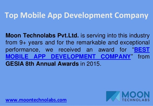 www.moontechnolabs.com Moon Technolabs Pvt.Ltd. is serving into this industry from 9+ years and for the remarkable and exc...