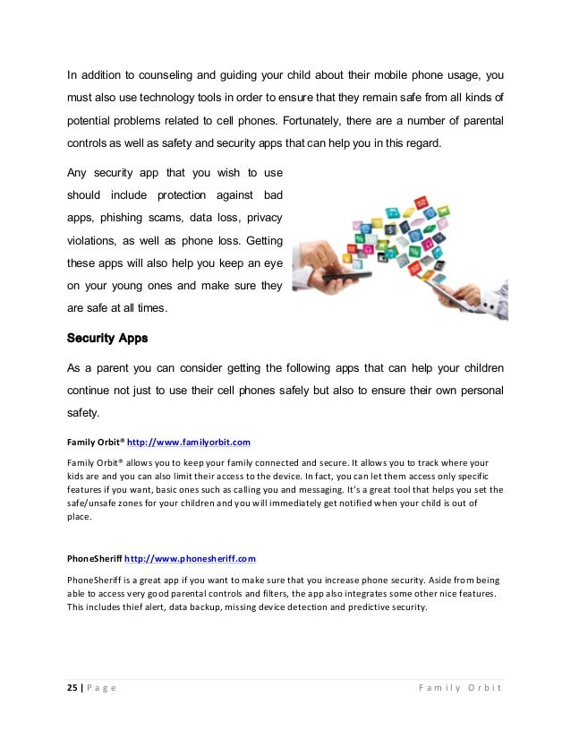 Mobile phones safety guide for parents ebook 25 fandeluxe PDF