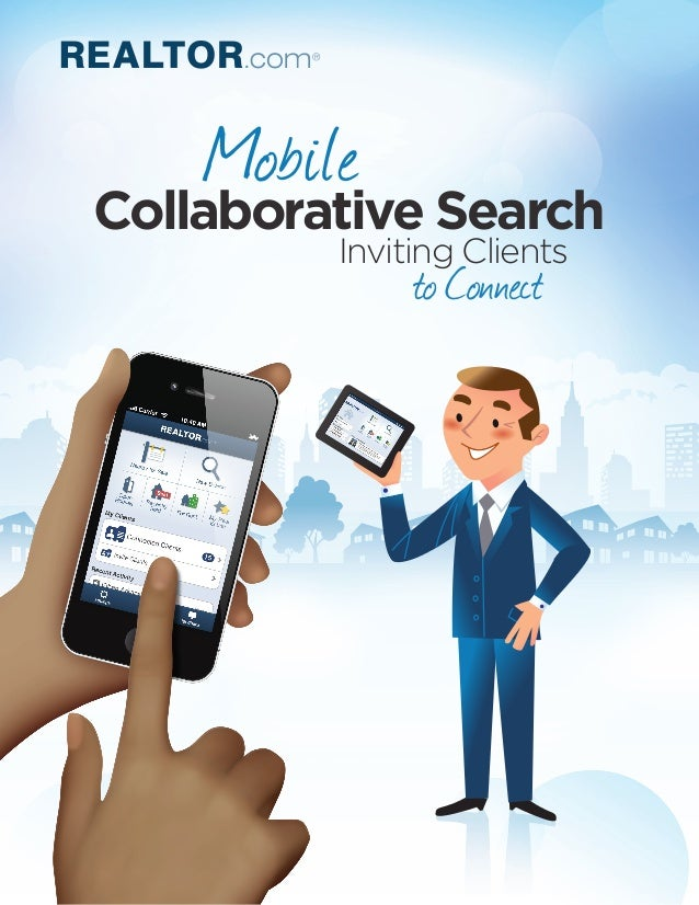 Mobile Collaborative Search Inviting Clients to Connect