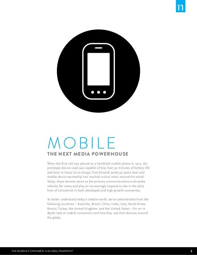 Nielsen Research: Mobile consumer report 2013 Slide 3