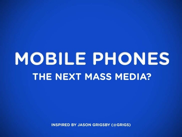 Context and the future of mobile