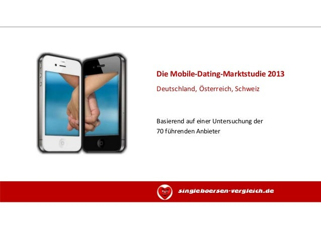 Die Mobile-Dating-Marktstudie 2013Deutschland, Österreich, SchweizBasierend auf einer Untersuchung der70 führenden Anbiete...