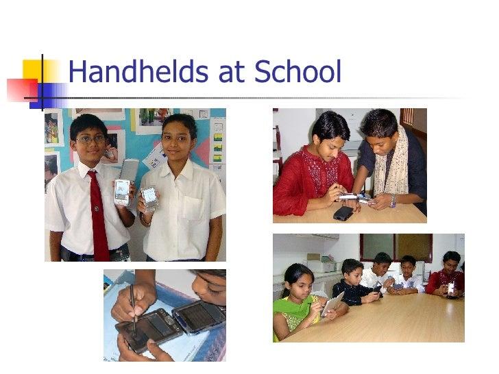 Handhelds at School
