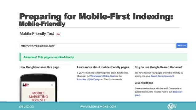 Preparing for Mobile-First Indexing: Google Hosted Content
