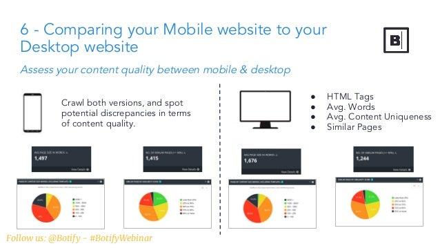 Mobile first index webinar